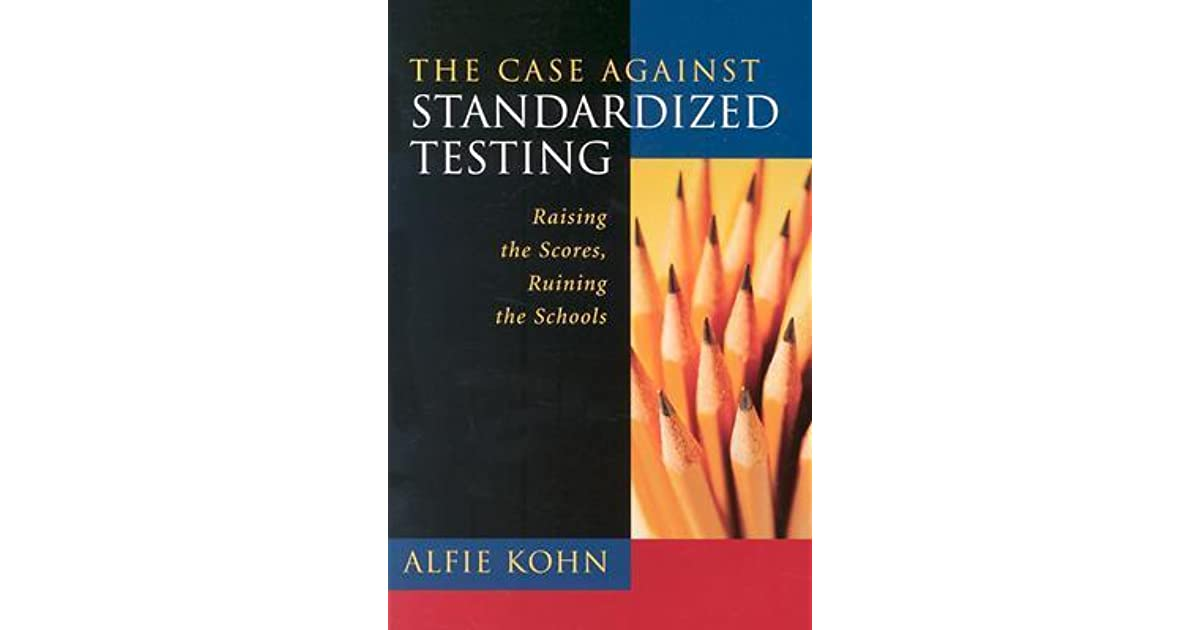 "against standardized testing essay Essay on standardized testing  not to gauge the quality of a given student or school"" (standardized testing) further arguing the case against standardized testing, is the fact that these tests are biased  essay writing on standardized testing, example essay on standardized testing, free essays on standardized testing, standardized."