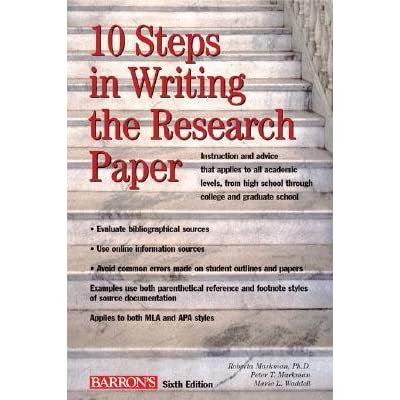 10 steps in writing the research paper markman pdf merge
