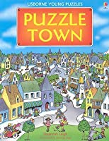 Puzzle Town (Usborne Young Puzzle Books)