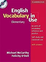 English Vocabulary in Use: Elementary with Answers [With CDROM]