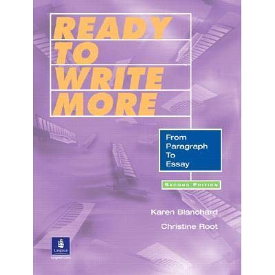 Write my writing paragraphs and essays integrating reading writing and grammar skills
