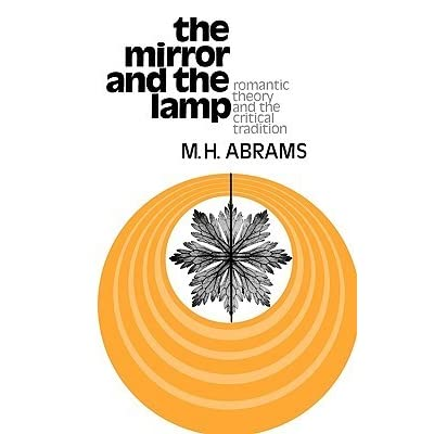 M.h.abrams the mirror and the lamp