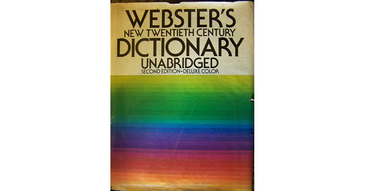 noah webster dictionary of the english language