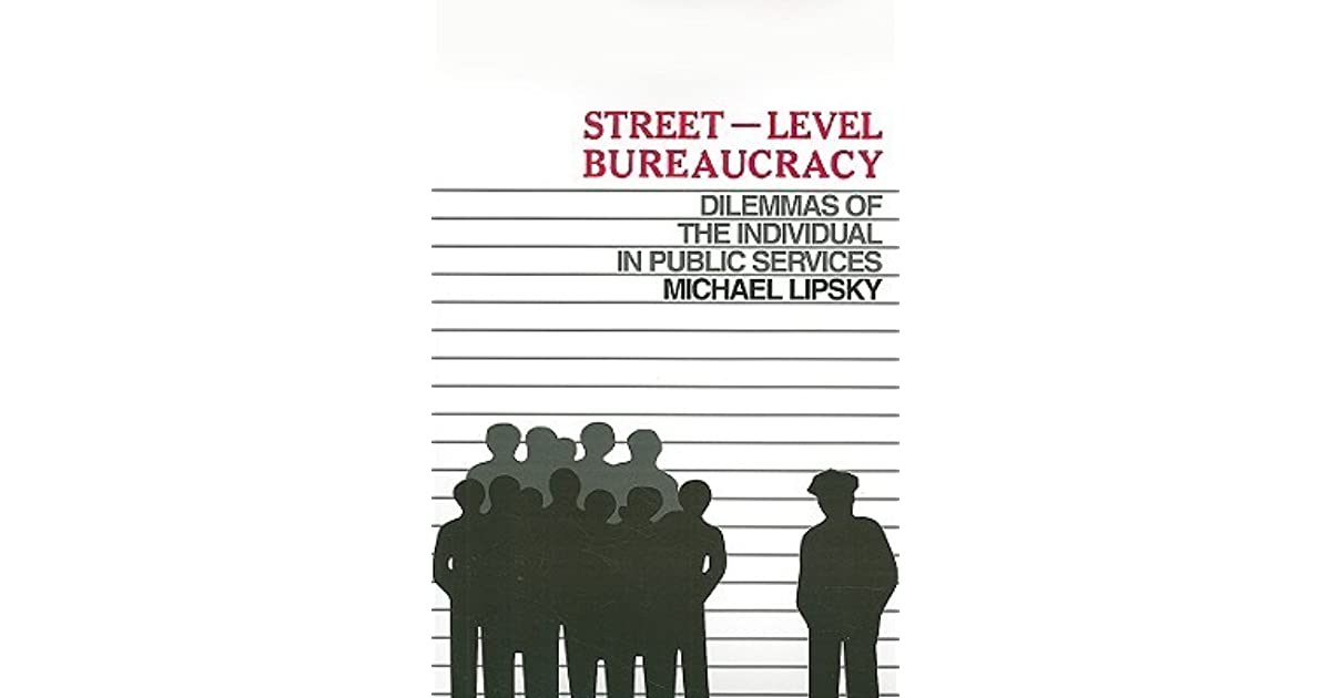 "performance of street level bureaucrats The persistent problem of course is the tendency to assume all ""bureaucrats"" approach their work in the same way we've both seen a terrific change in the types of personalities now emerging at the head of state governments yet corporate attitudes and approaches still vary widely across departments."