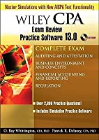Wiley CPA Examination Review Practice Software 13.0, Complete Set