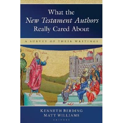 an analysis of the authors of the new testament writings The bible is divided into two sections: the old testament and the new testament testament refers to a covenant between god and his people jews and protestant christians recognize 39 inspired books of the old testament protestant christians recognize 27 inspired books of the new testament.