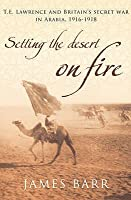 Setting The Desert On Fire:  T. E. Lawrence And Britain's Secret War In Arabia, 1916   1918