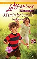 A Family for Summer (Love for All Seasons, #3)