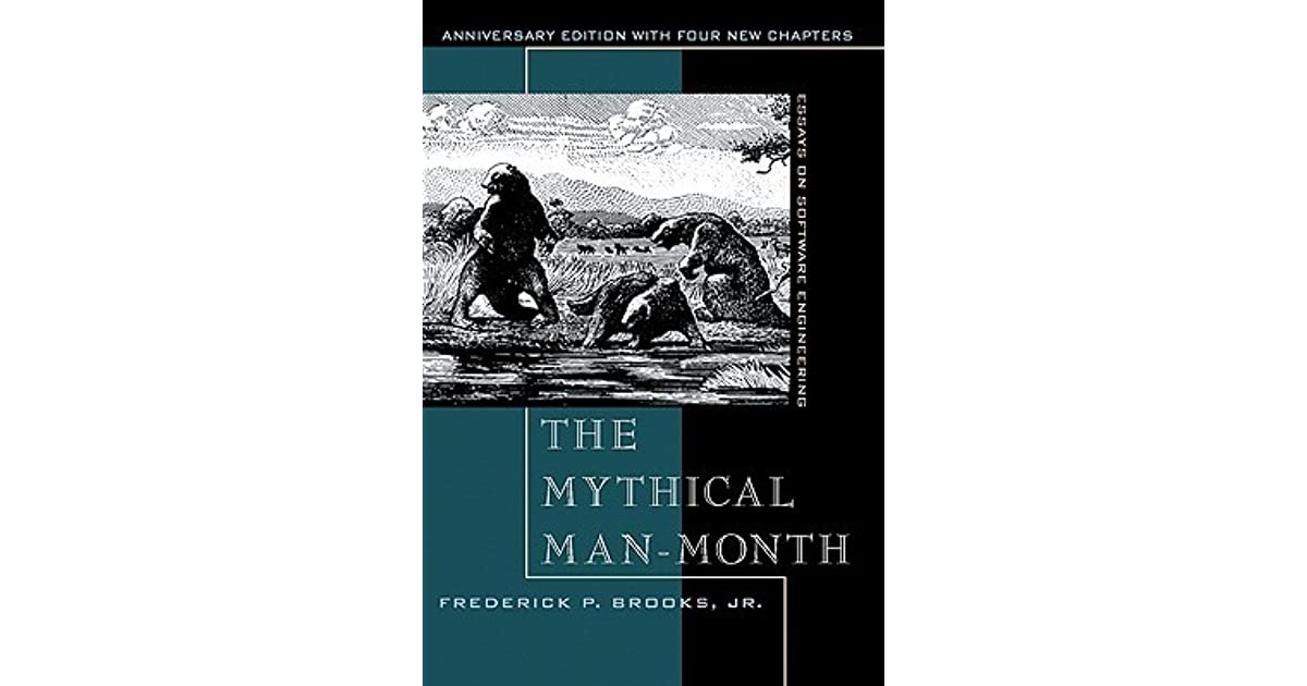 the mythical man-month essays on software engineering by frederick brooks