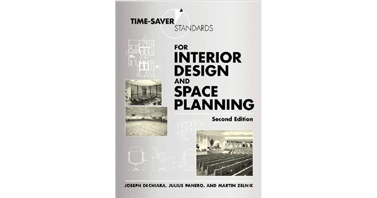Time Saver Standards For Interior Design And Space Planning By Joseph De Chiara Reviews
