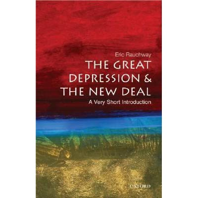 The great depression and the new deal eric rauchway