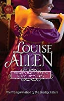 Vicar's Daughter to Viscount's Lady (Transformation of the Shelley Sisters, #2)