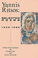 Yannis Ritsos: Selected Poems 1938-1988