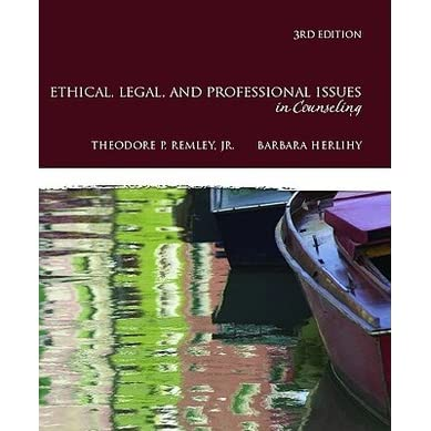 ethical issues in psychology and counseling Sensitivity to diversity issues and general knowledge  culturally sensitive treatment and ethical practice  ethics in counseling and.