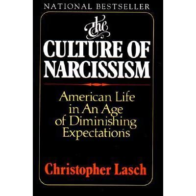 the culture of narcissism critical book review The picture of dorian gray addresses more than one theme the primary appeal of the subject of beauty, as it appears to eyes, is the main focus of the novel the primary appeal of the subject of beauty, as it appears to eyes, is the main focus of the novel.