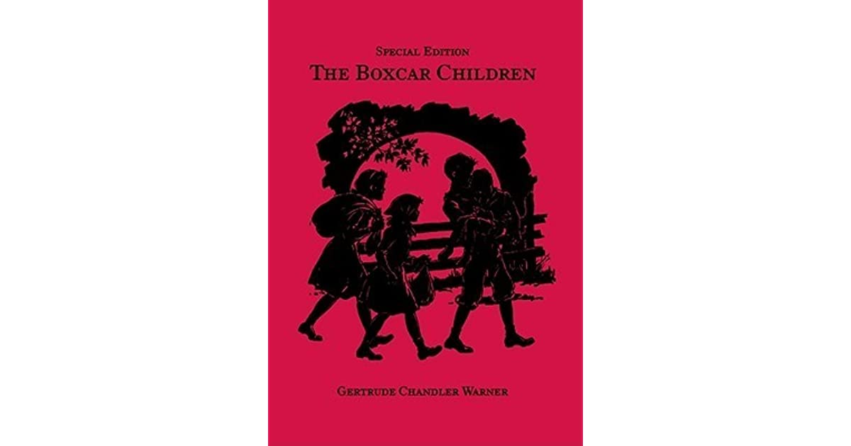 Boxcar Children Book Cover : The boxcar children by gertrude