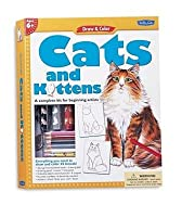 Draw & Color Cats & Kittens Kit