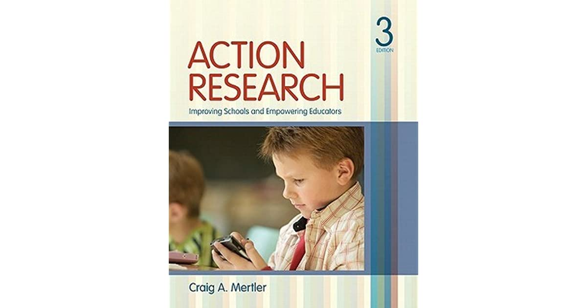 educ 6733 action research application 1 Educ 6733 - action research for educators♦ (3 sem cr) education professionals use action research in a variety of ways to improve schools, student performance.