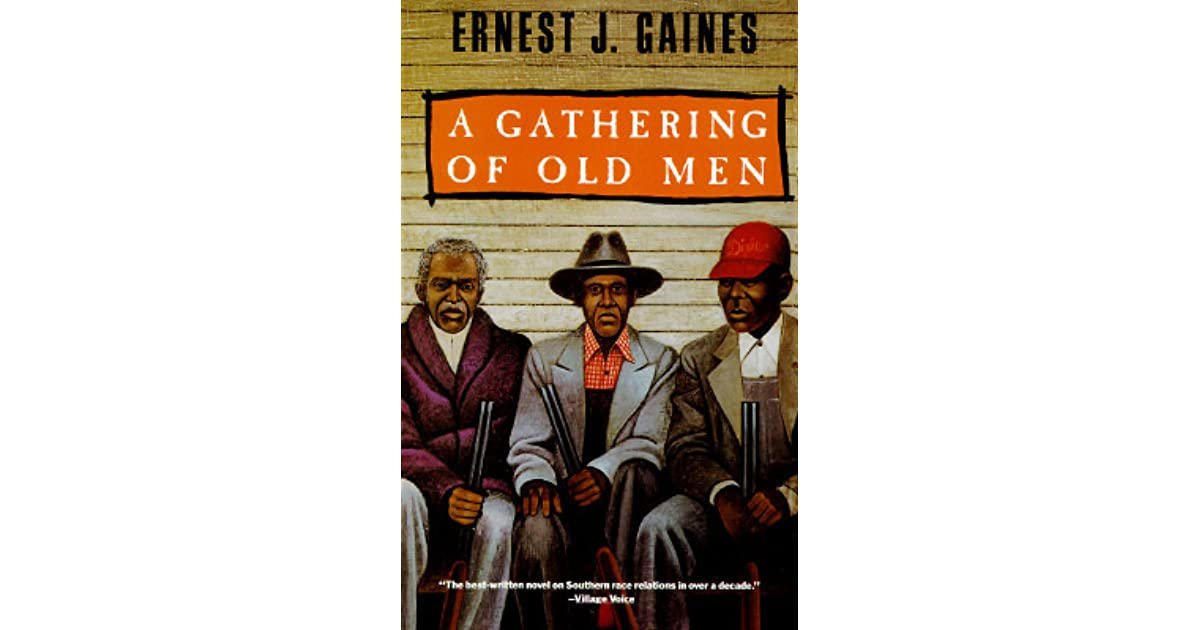 themes in a gathering of old men Set on a louisiana sugarcane plantation in the 1970s, a gathering of old men is a powerful depiction of racial tensions arising over the death of a cajun farmer at the hands of a black man poignant, powerful, earthya novel of southern racial confrontation in which a group of elderly black men band together against whites who seek vengeance for the murder of one of their own--booklist a.