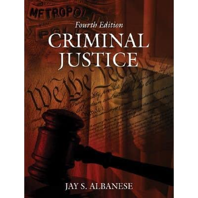 criminal justice thesis Many criminal justice classes require students to submit an essay instructors can help students choose an interesting topic this lesson provides.