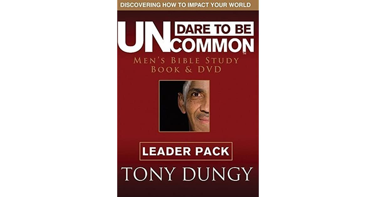 uncommon by tony dungy Tony dungy is the no1 new york times bestselling author of quiet strength, uncommon, the mentor leader, and the one year uncommon life daily challenge.