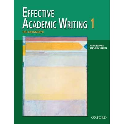 Effective academic writing 2 book