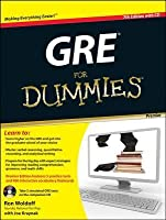 GRE for Dummies [With CDROM]
