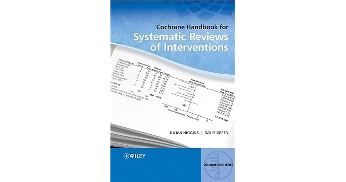 handbook for systematic reviews of interventions pdf