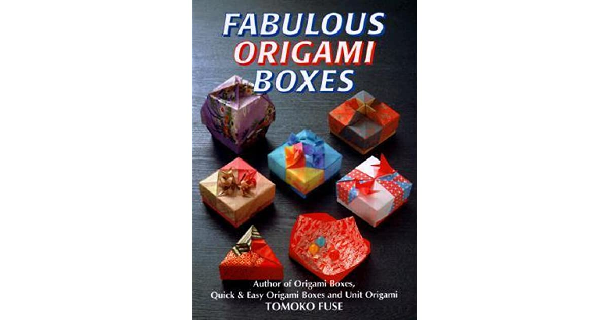 fabulous origami boxes by tomoko fuse reviews. Black Bedroom Furniture Sets. Home Design Ideas