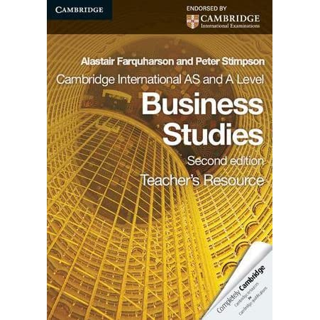 business studies ao1 as level Peter stimpson is the author of cambridge international as and a level business studies coursebook with cd-rom (425 avg rating, 299 ratings, 22 reviews.