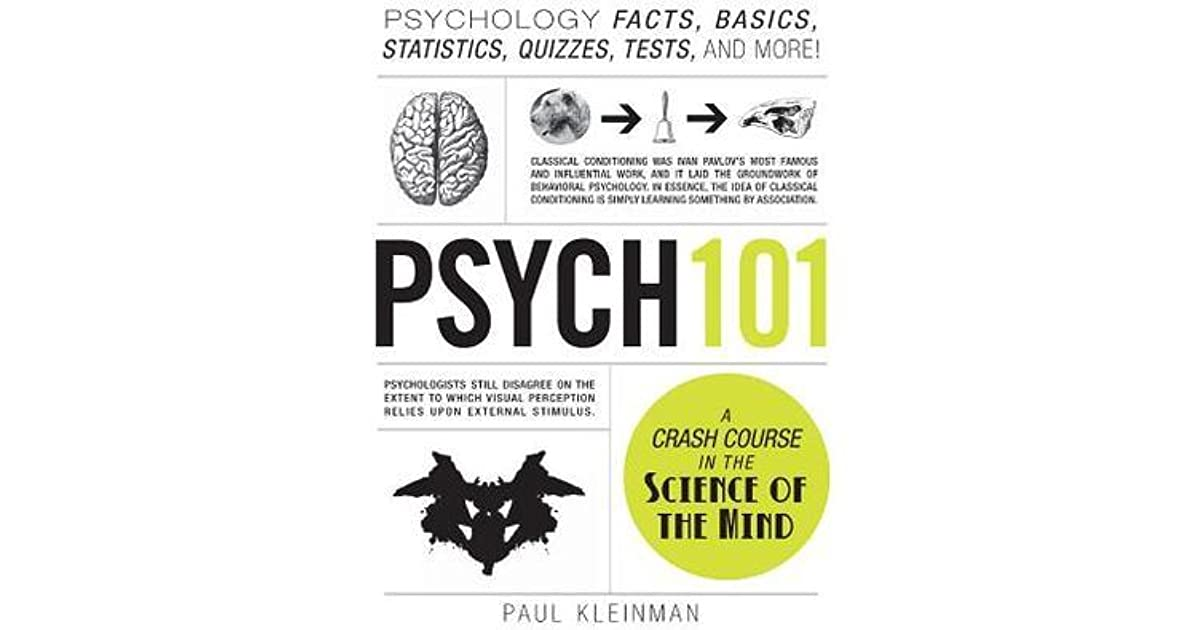 psych 101 psychology facts basics statistics tests and more pdf