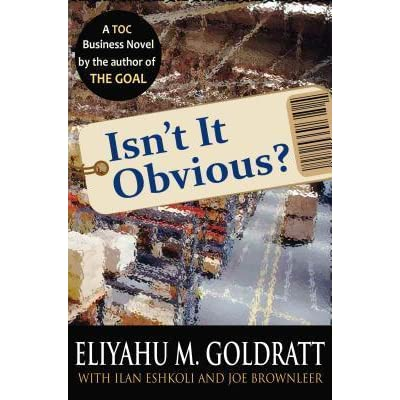 the goal by goldratt essay Eliyahu m goldratt's and jeff cox's the goal analytical essay by jpwrite eliyahu m goldratt's and jeff cox's the goal a summary and analysis of goldratt and cox's novel, the goal.