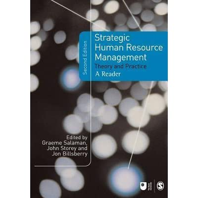 LITERATURE REVIEW STRATEGIC HUMAN RESOURCE MANAGEMENT