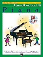 Alfred's Basic Piano Library Lesson Book, Bk 1b: Book & CD