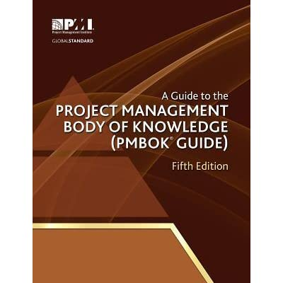 the pmbok guide essay Free project management papers available for download the pmbok® guide contains a lot of one-page reference guide to the tenstep.