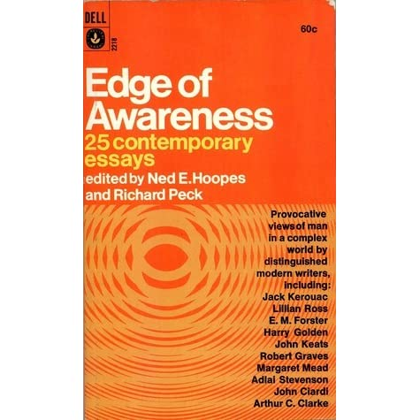 edge of awareness 25 contemporary essays Edge of awareness: 25 contemporary essays on amazoncom free shipping on qualifying offers.