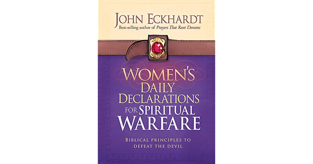 daily declarations for spiritual warfare pdf