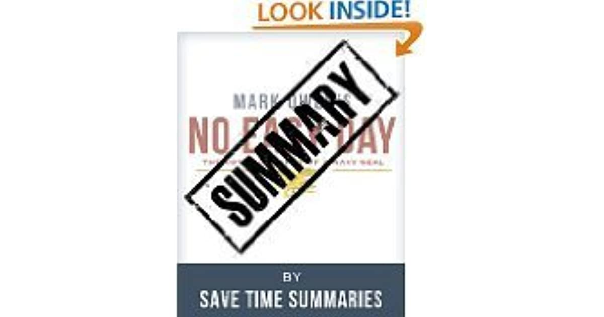 no easy day book review Review: i just finished reading no easy day, the story of the seal team 6 raid  that  this flash back represents about two-thirds of the book.