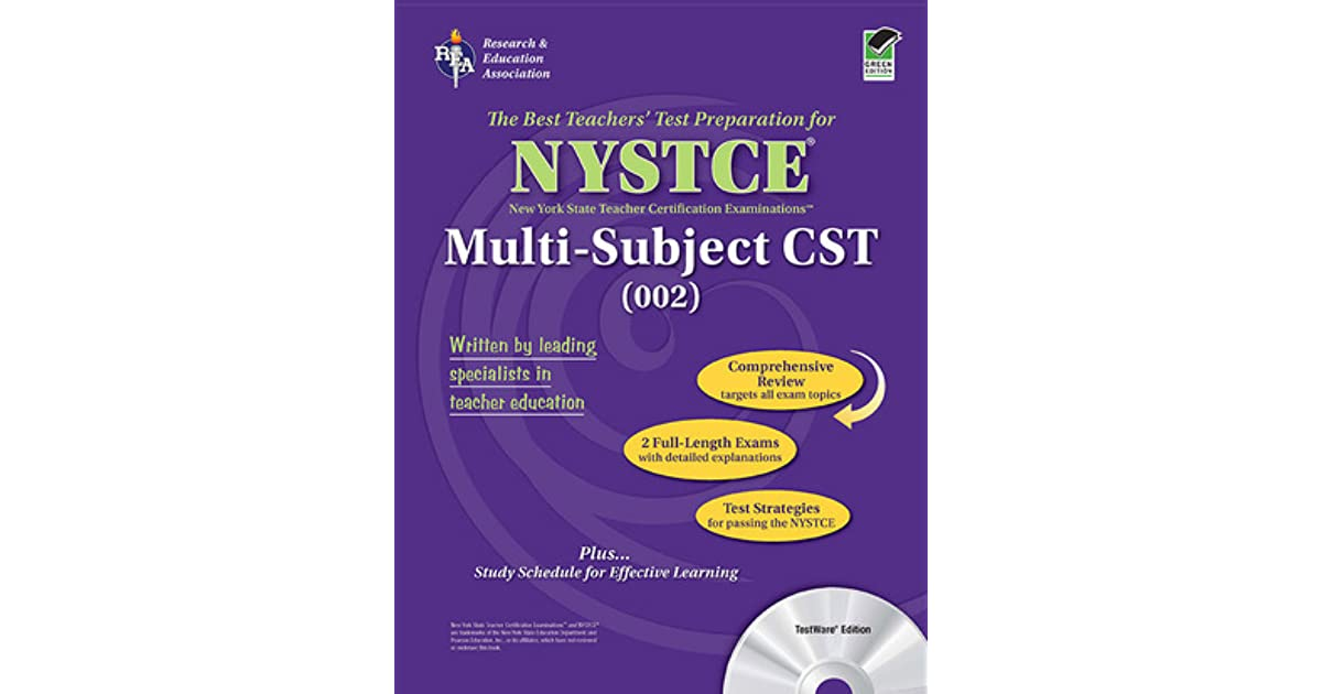 Cst multi subject essay