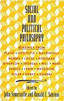 Social and Political Philosophy: Readings from Plato to Gandhi