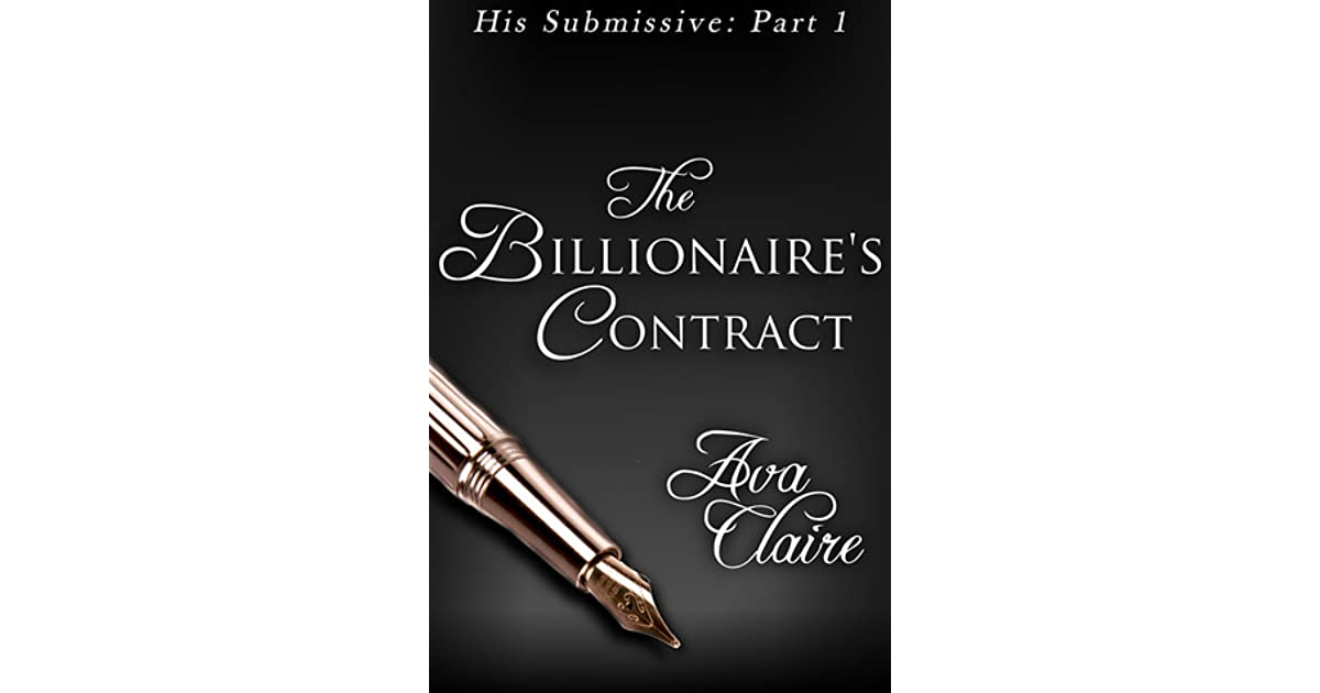 Book Cover Photography Contract : The billionaire s contract his submissive by ava