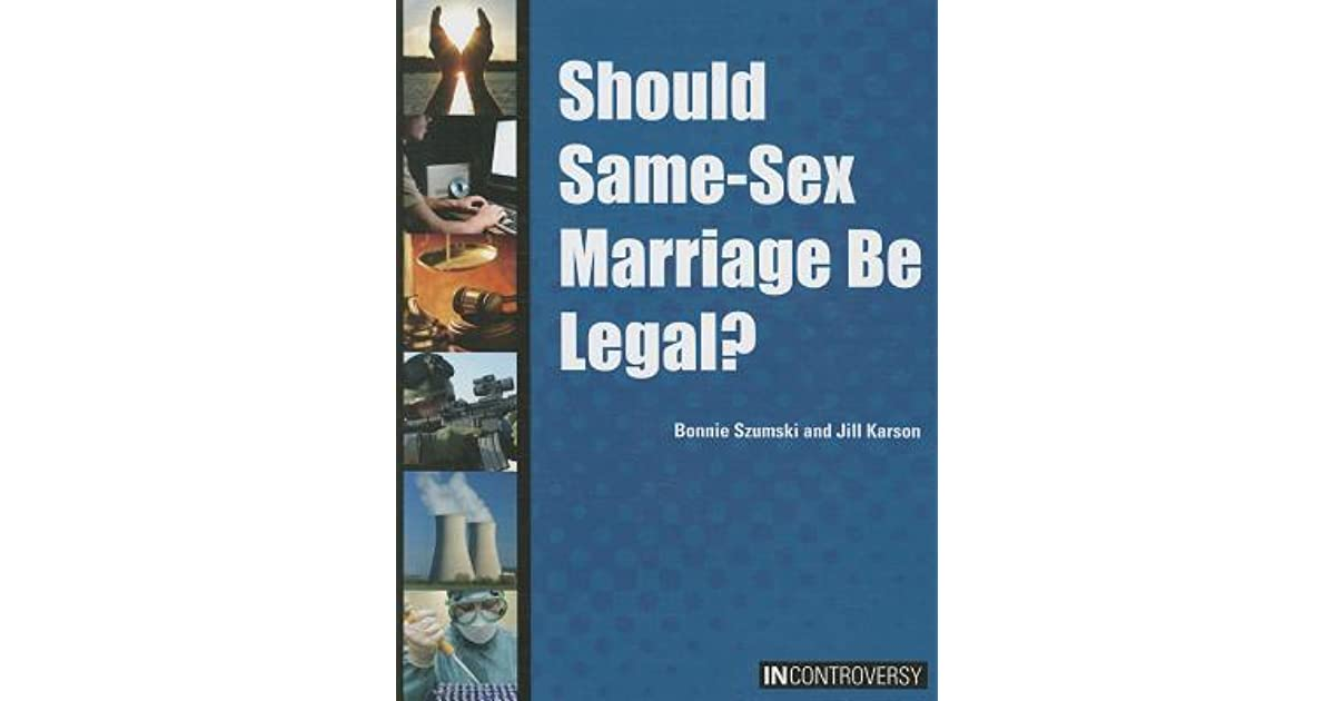 Same sex marriage should be legal essay