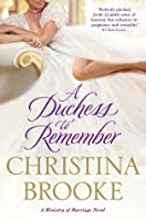 A Duchess to Remember (Ministry of Marriage, #3)