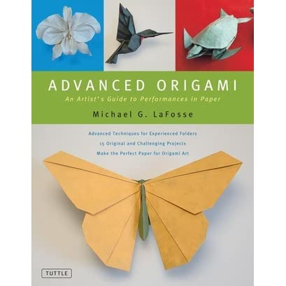 Advanced origami an artist 39 s guide to performances in paper by michael g lafosse reviews - Origami suspensie ...