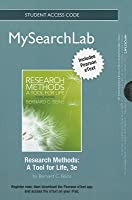 Mysearchlab with Pearson Etext -- Standalone Access Card -- For Research Methods: A Tool for Life
