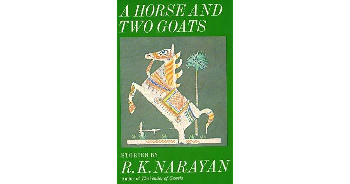 The horse and two goats