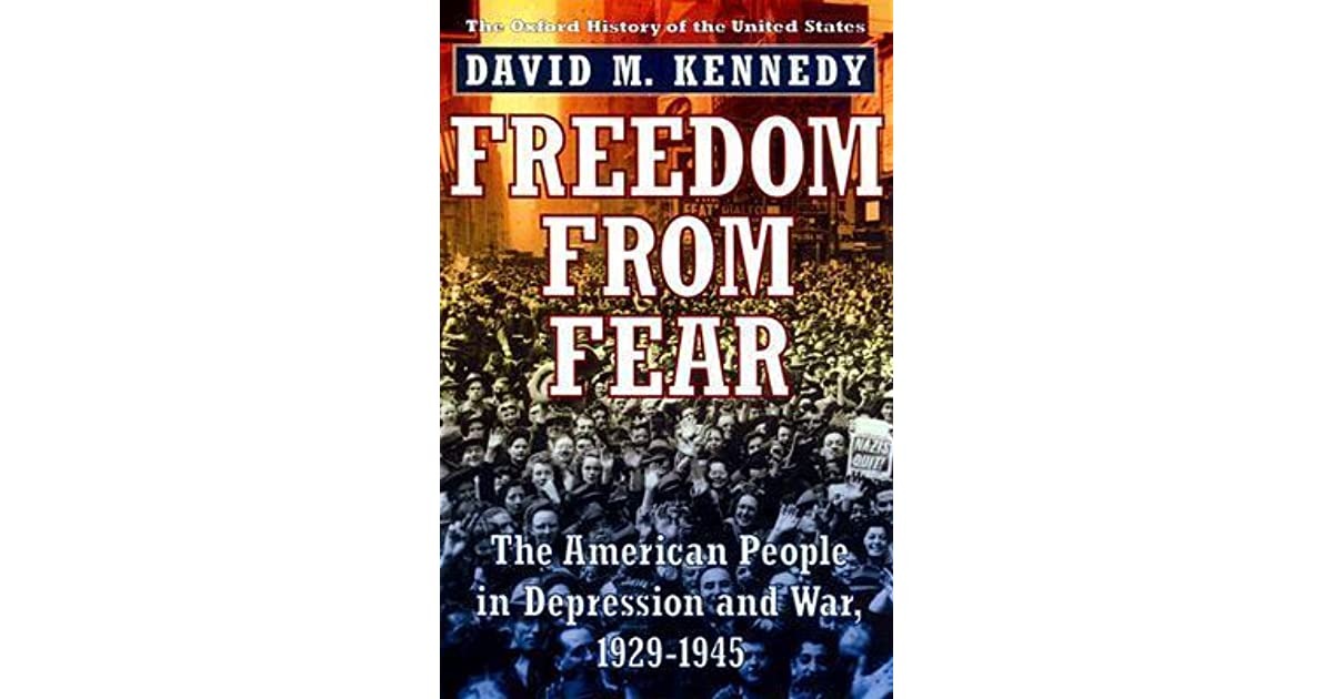 A fight for freedom in the book freedom from fear