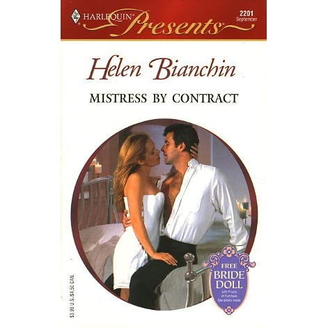 Mistress By Contract By Helen Bianchin Reviews border=