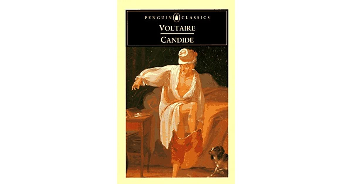 critical analysis on voltaires candide eldorado Voltaire disagrees with these thinkers and mocks this idea repeatedly by all the tragic events that happen to pangloss and candide, the main optimists ^pangloss struggles to support his belief, but inevitably in the end gives up and admits he does not believe himself.