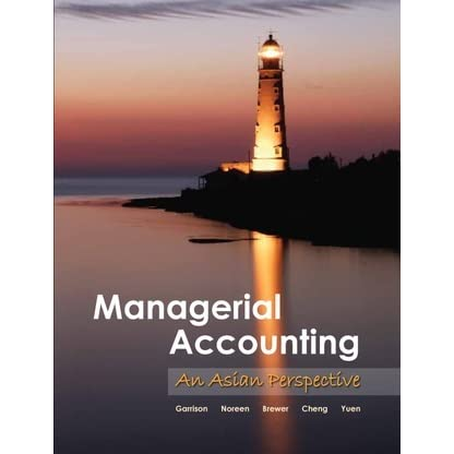 solutions to the managerial accounting asian perspective